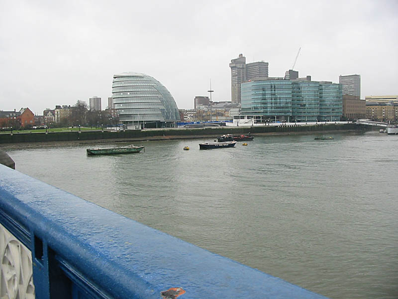 Greater London Assembly Building from Tower Bridge