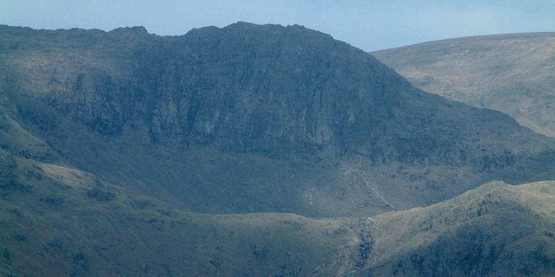 Pavey Ark above Stickle Tarn from Lingmoor Fell