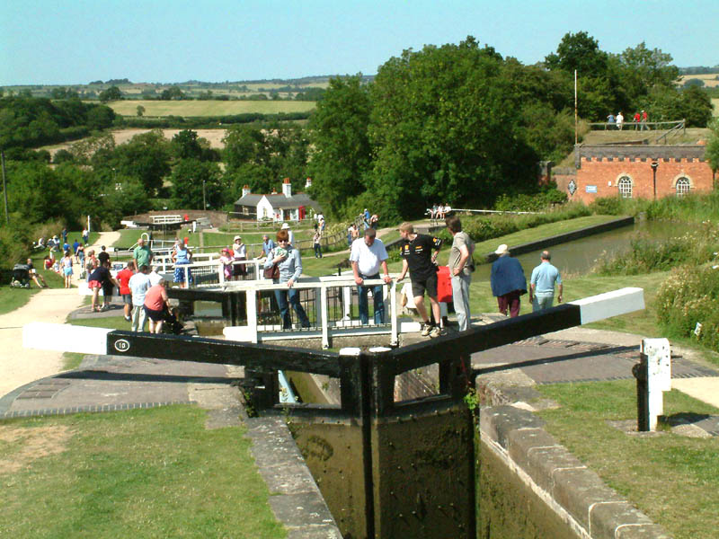 Foxton Locks Car Park