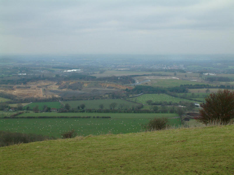 View from Chanctonbury Hill