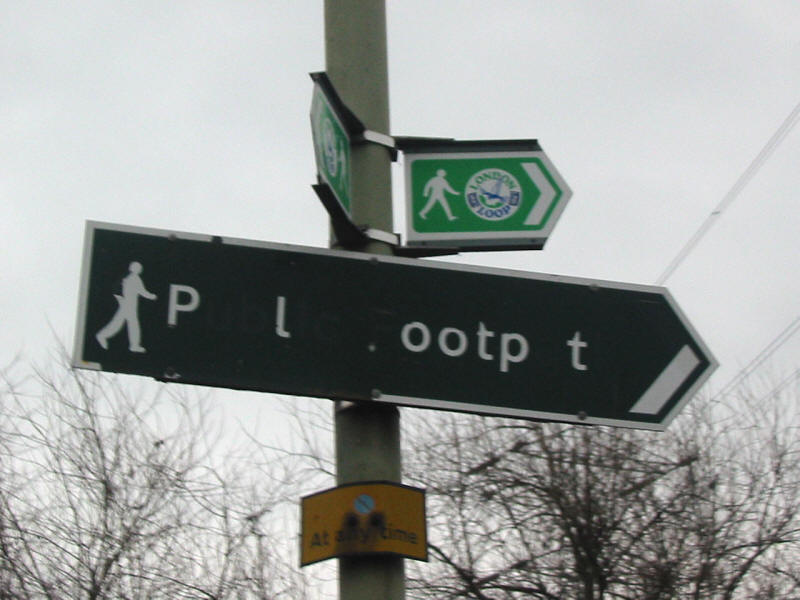 London Loop sign