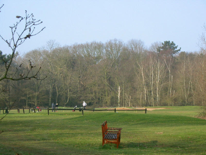 Hainault Forest Golf Course on the London Loop