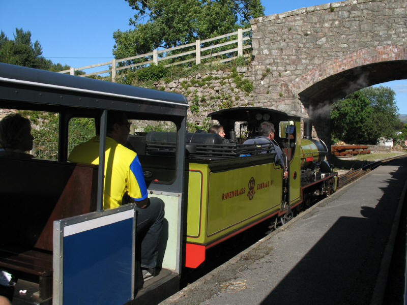 Northern Rock, Ravenglass and Eskdale Railway, The Green station