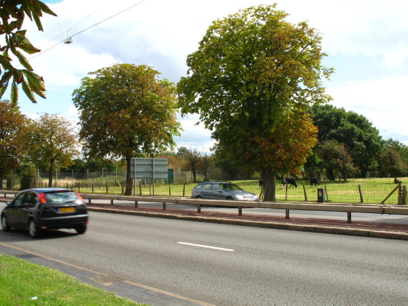 A30 road near Hatton Cross