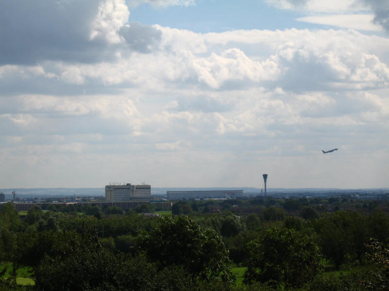 Heathrow Airport from Viewpoint hill