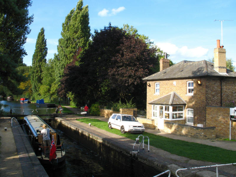 Uxbridge Lock, Grand Union Canal