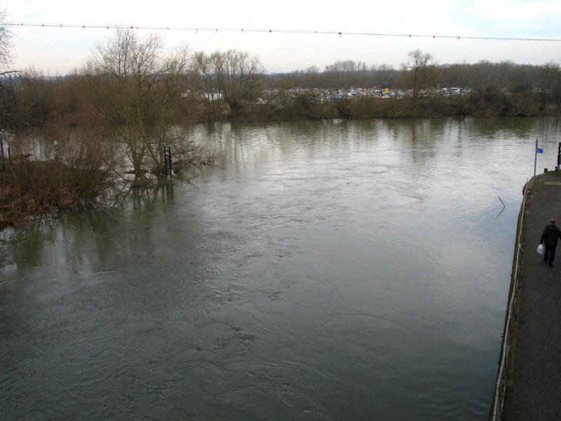 Kennet Mouth, River Thames, Reading