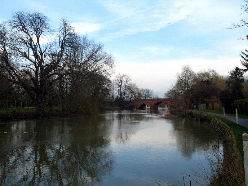 Sonning Bridge, River Thames