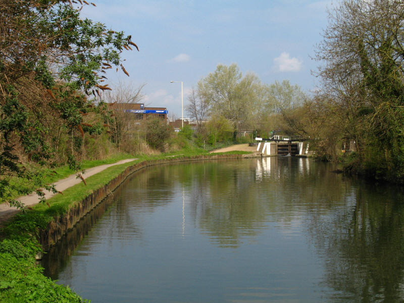 Clitheroe's Lock, Grand Union Canal
