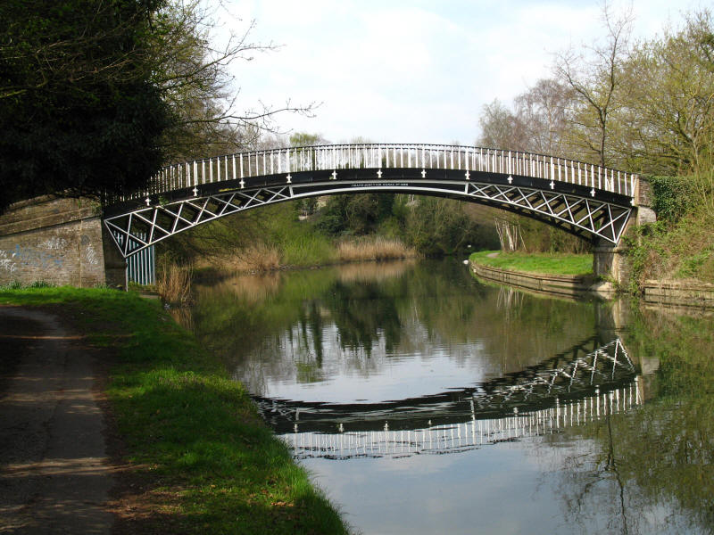 Horseley Iron Works bridge, Grand Union Canal
