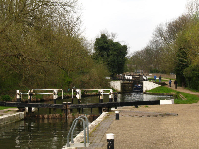Hanwell locks, Grand Union Canal