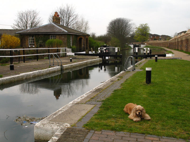 Lock cottage, Grand Union Canal, Hanwell