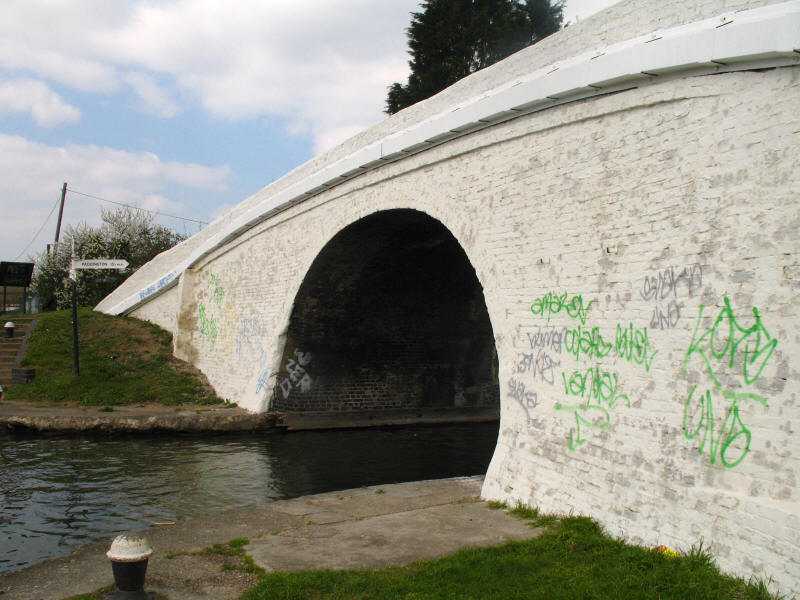 Bull's Bridge or Bulls Bridge Junction, Grand Union Canal