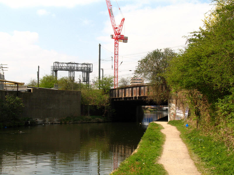 Great Western railway bridge over Grand Union Canal