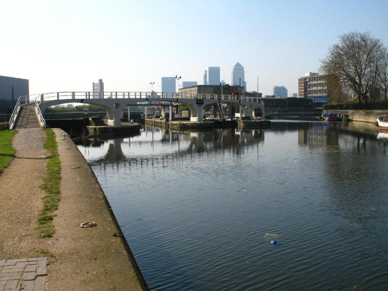 Bow Locks, River Lee Navigation and Limehouse Cut, Bromley-by-Bow
