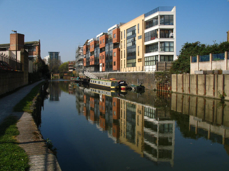 Reflections in the Limehouse Cut