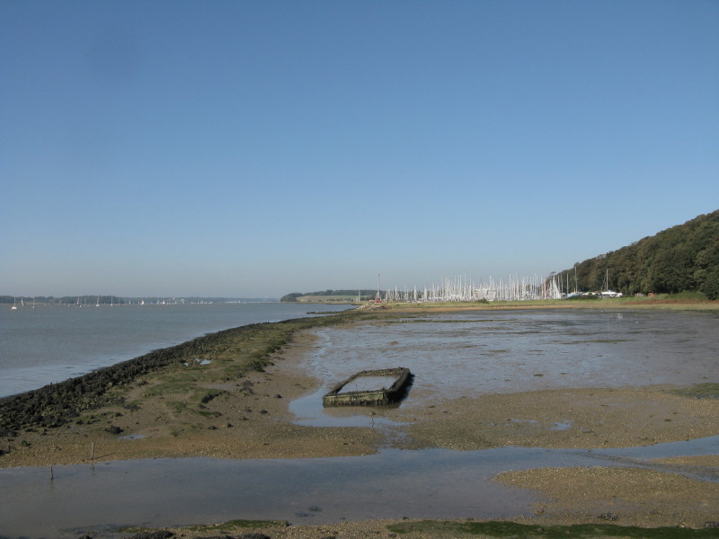 Stour And Orwell Walk Levington Marina To Landguard