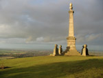 War memorial on Coombe Hill near Wendover in Buckinghamshire