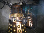 Daleks in the Doctor Who exhibition at the Coventry Transport Museum