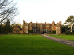 Kentwell Hall, north of Long Melford, during a walk on the Stour Valley Path