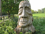 Big Head, part of the Hearts of Oak Sculpture Trail