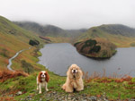 Hetty and George above Haweswater