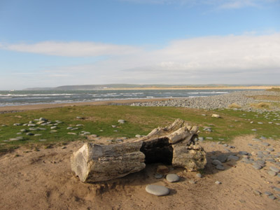 From Northam Burrows near Westward Ho! a look across the mouth of the Rivers Taw and Torridge