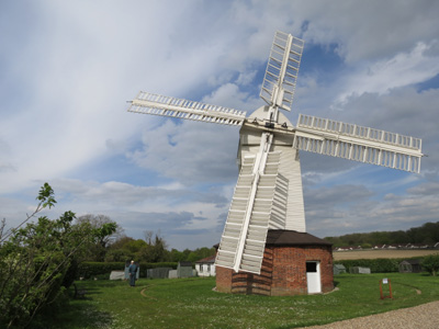 Stanton windmill during National Mills Weekend