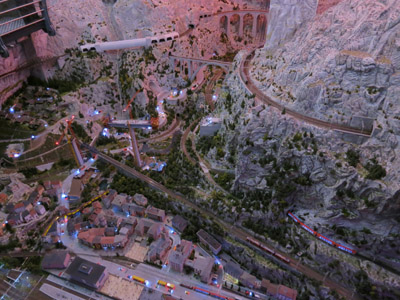 Part of the Switzerland section of Miniatur Wunderland