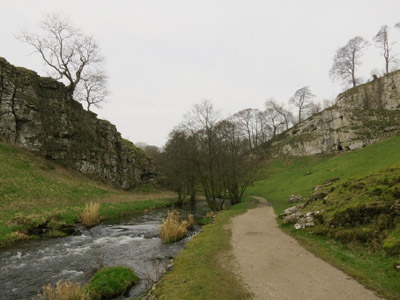 Wolfscote Dale in the Peak District